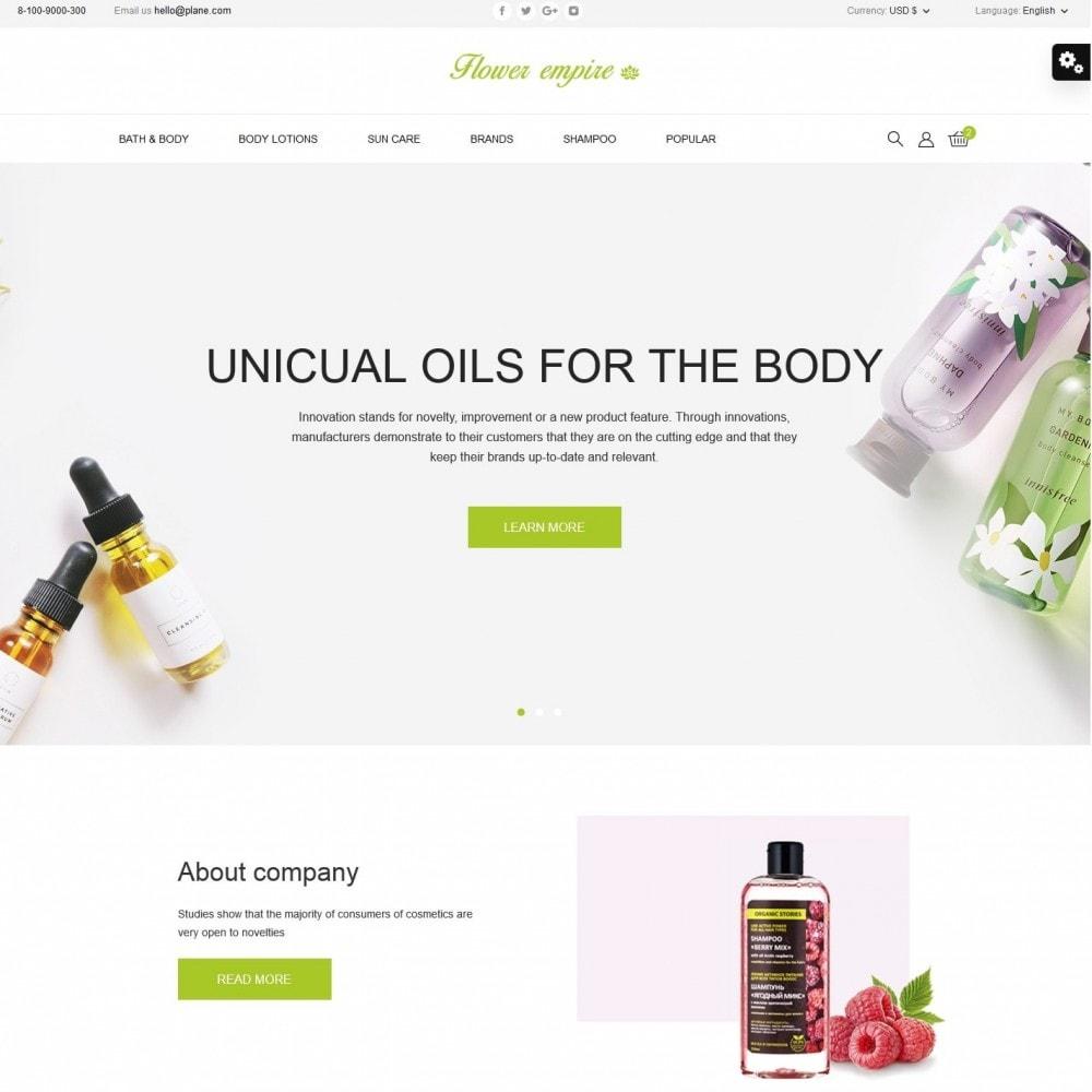 theme - Health & Beauty - Flower empire Cosmetics - 2