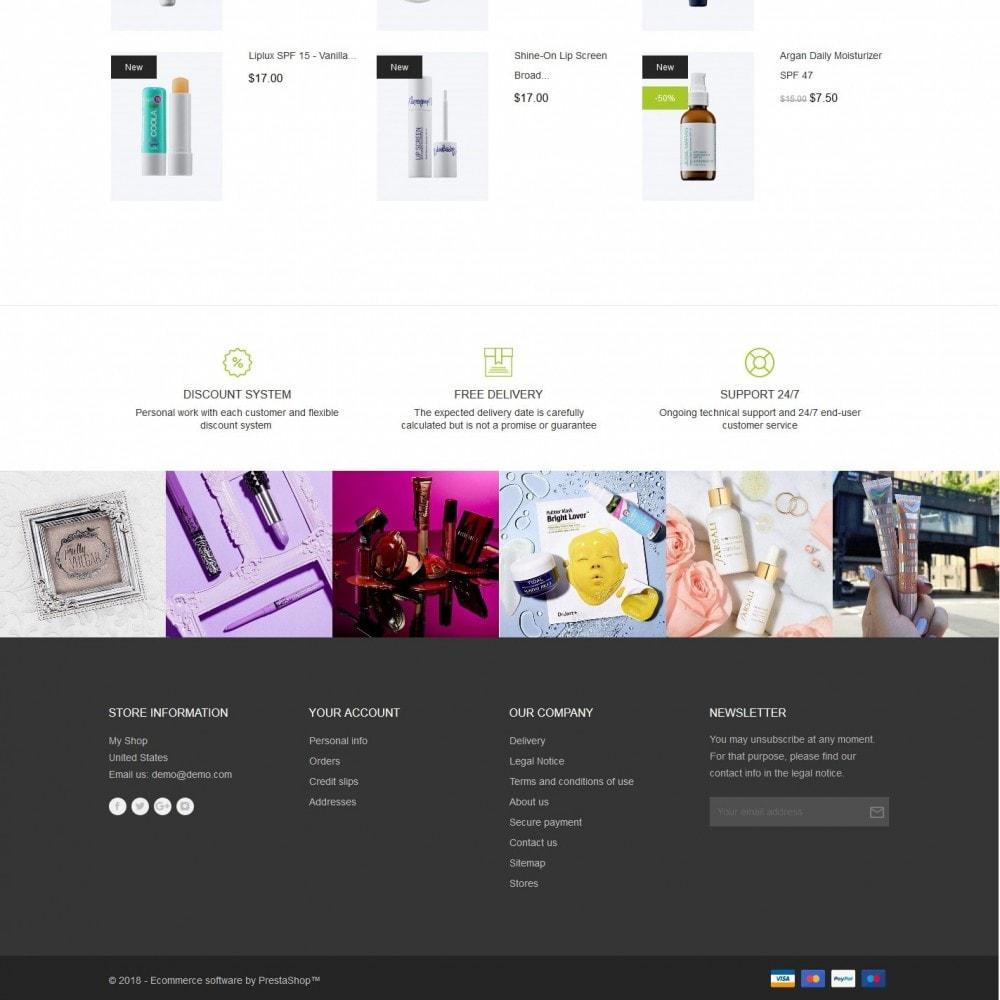 theme - Health & Beauty - Flower empire Cosmetics - 4