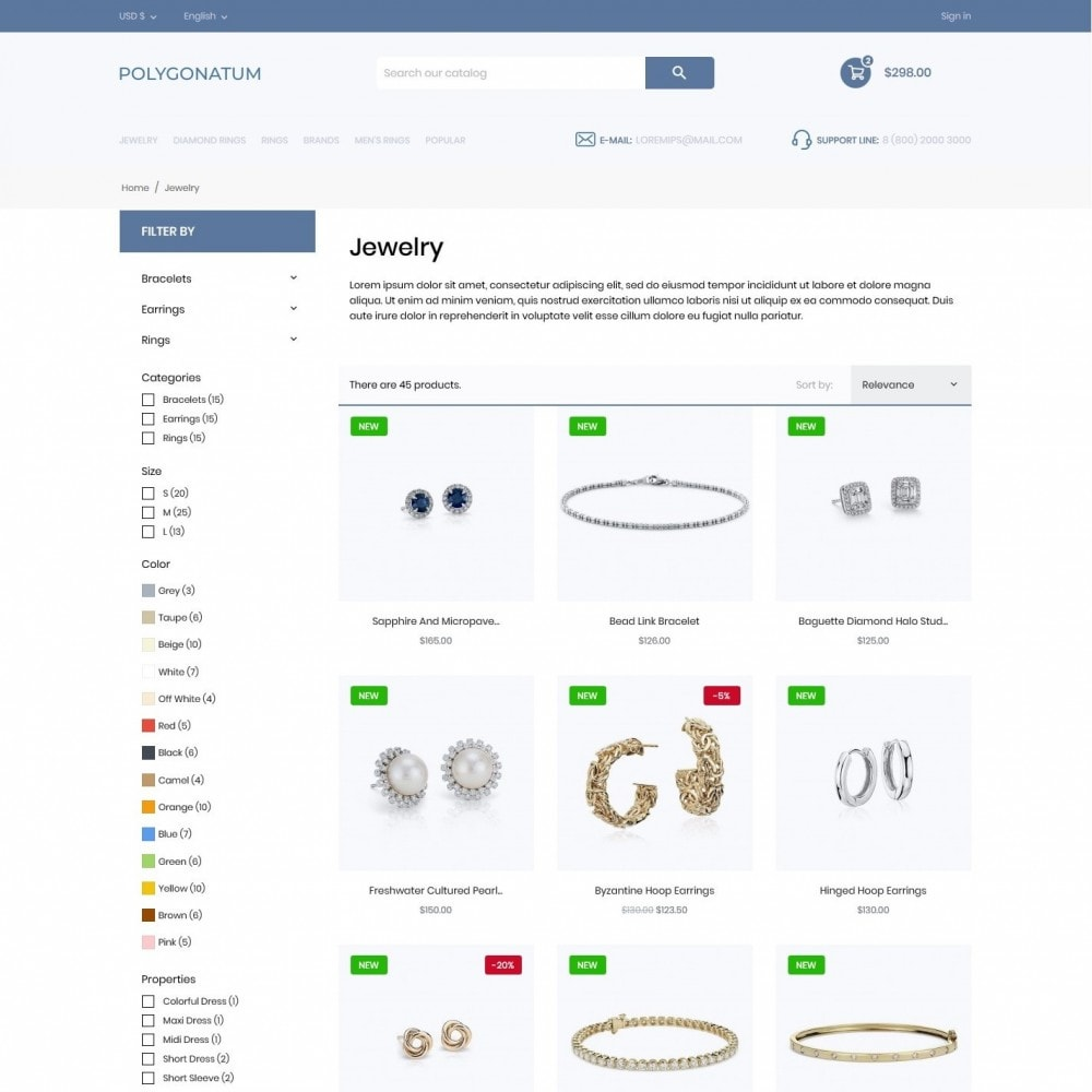 theme - Jewelry & Accessories - Polygonatum - 5