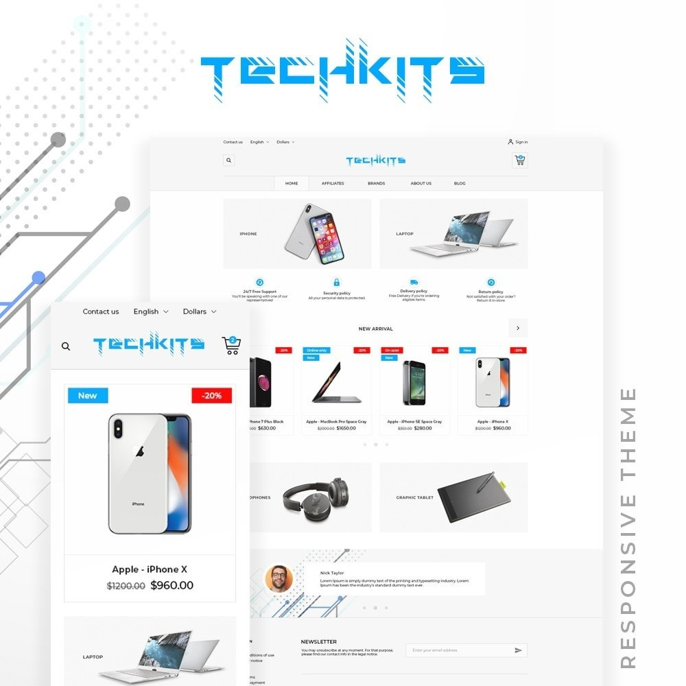 TechKits - High-tech Shop