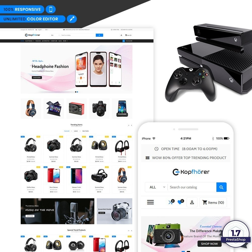 Kopfhorer - Electronic Shop