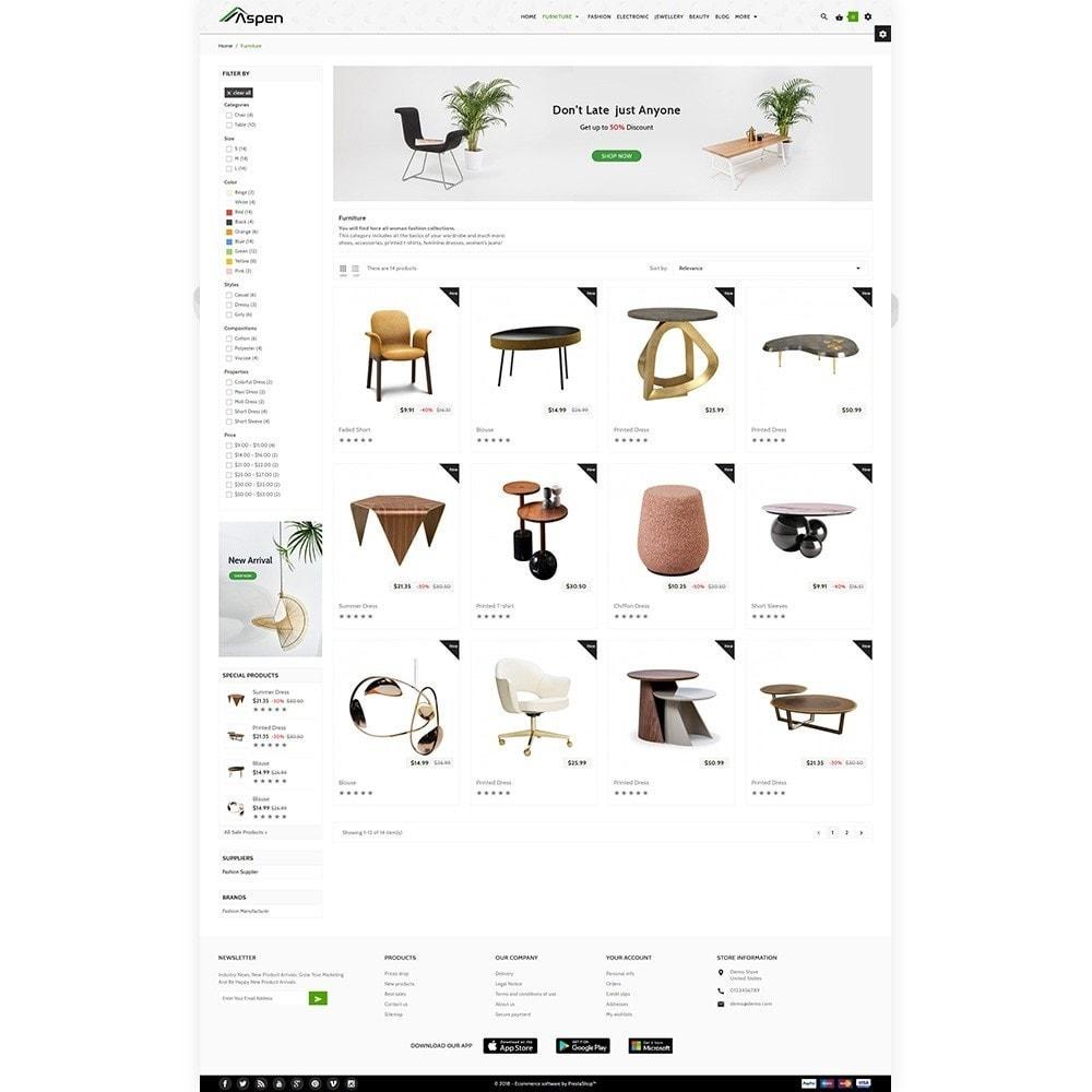 theme - Home & Garden - Aspen Furniture Decor Shop - 4