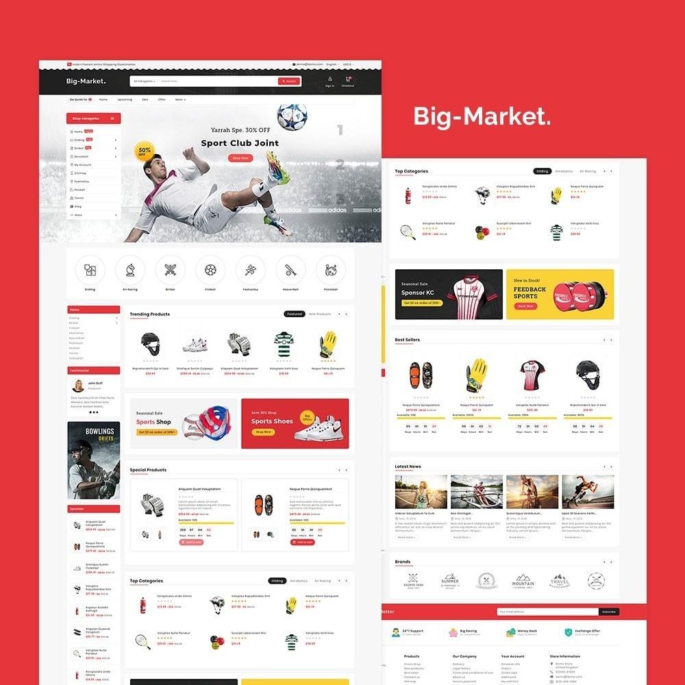 theme - Desporto, Actividades & Viagens - Big Market Sports Store - 2