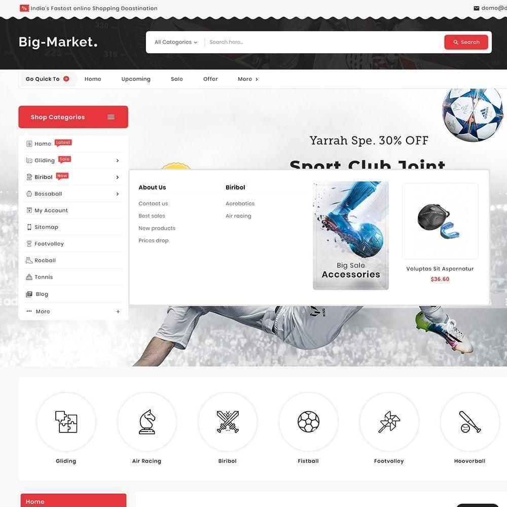 theme - Desporto, Actividades & Viagens - Big Market Sports Store - 9