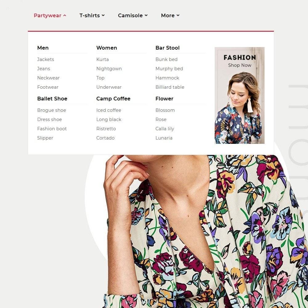 theme - Fashion & Shoes - Floral Flamingo & Fashion Apparels - 9