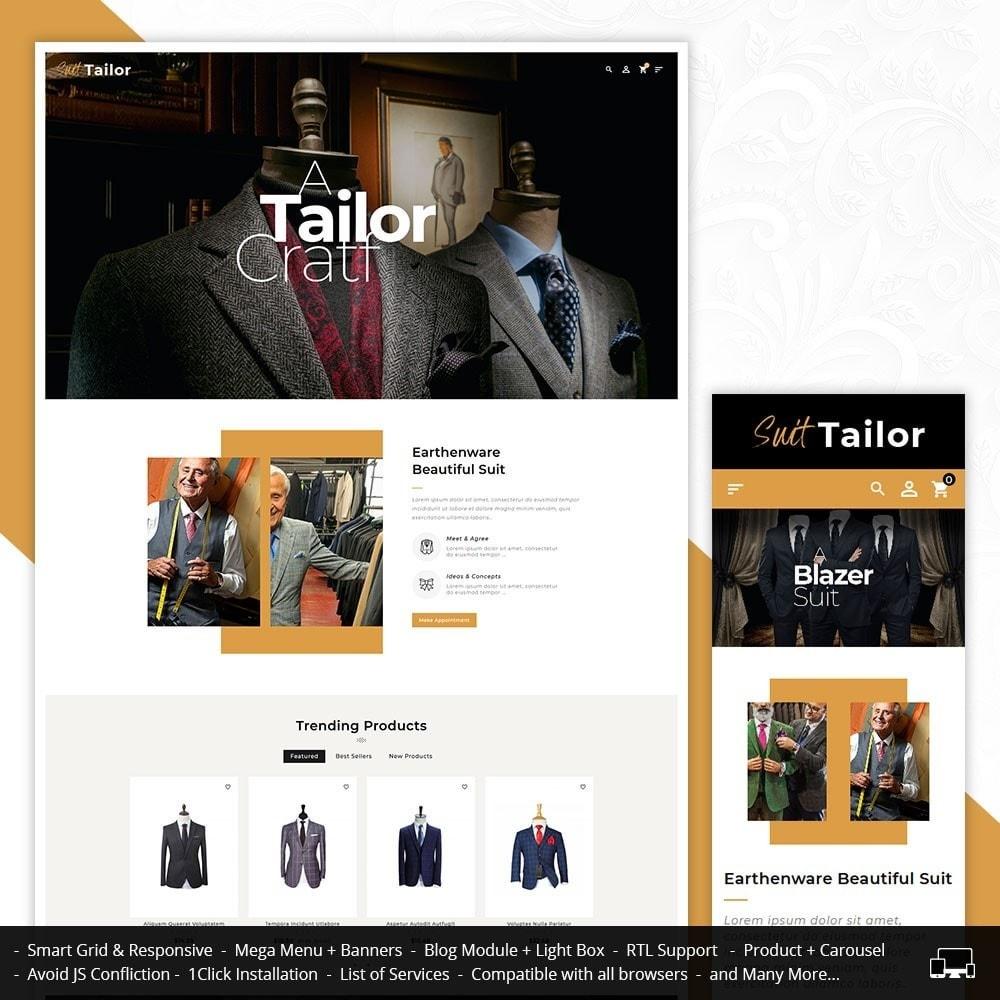Floral Suit & Tailor