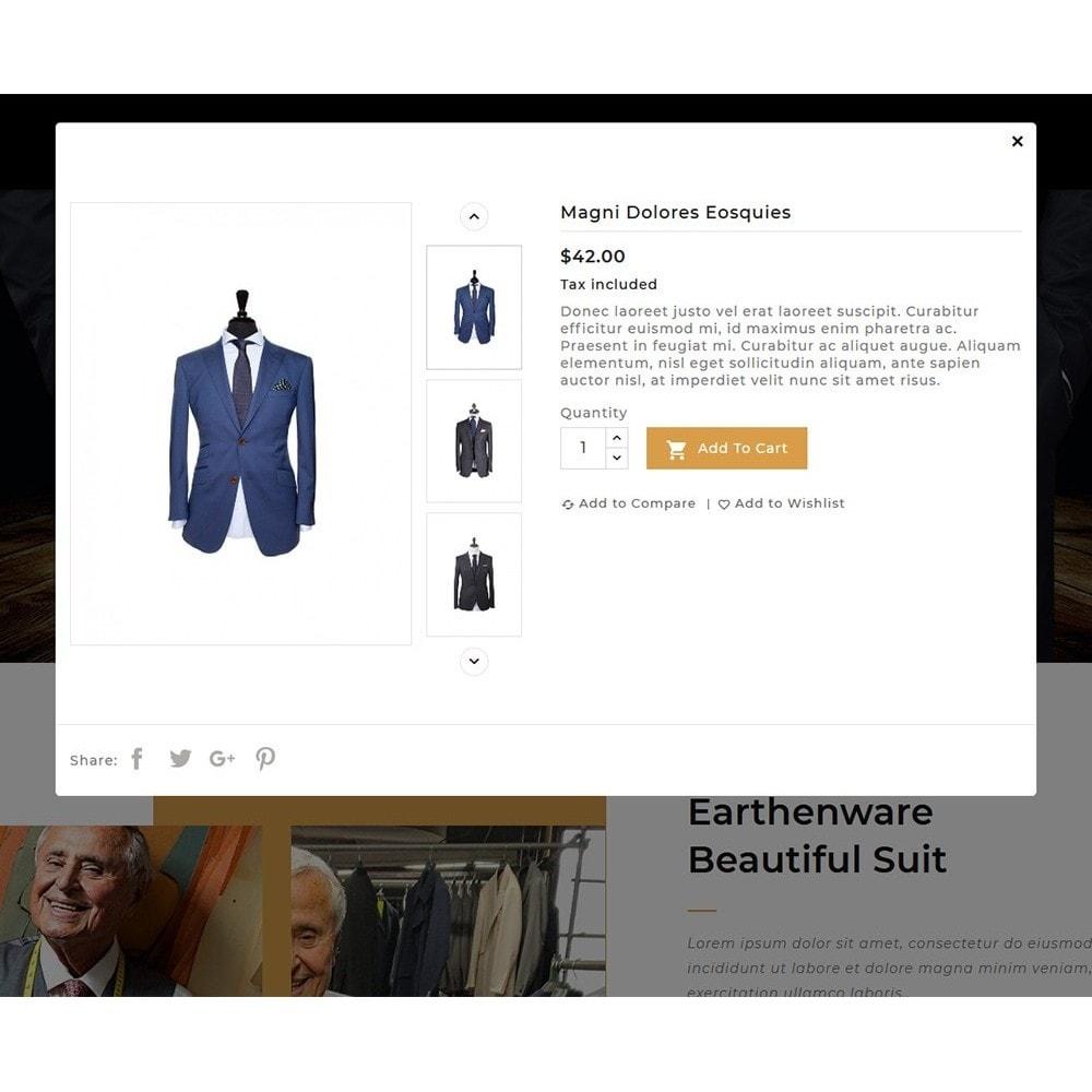 theme - Fashion & Shoes - Floral Suit & Tailor - 8