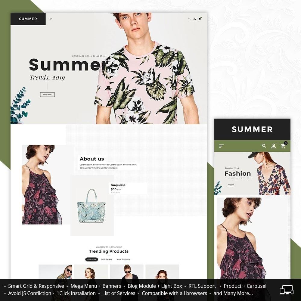 theme - Fashion & Shoes - Floral Fashion - Summer Shop - 1