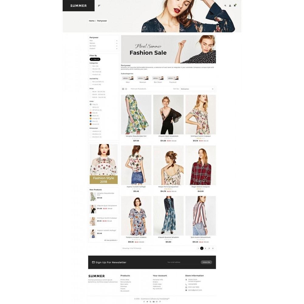 theme - Fashion & Shoes - Floral Fashion - Summer Shop - 3