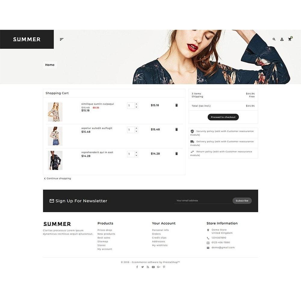 theme - Fashion & Shoes - Floral Fashion - Summer Shop - 6