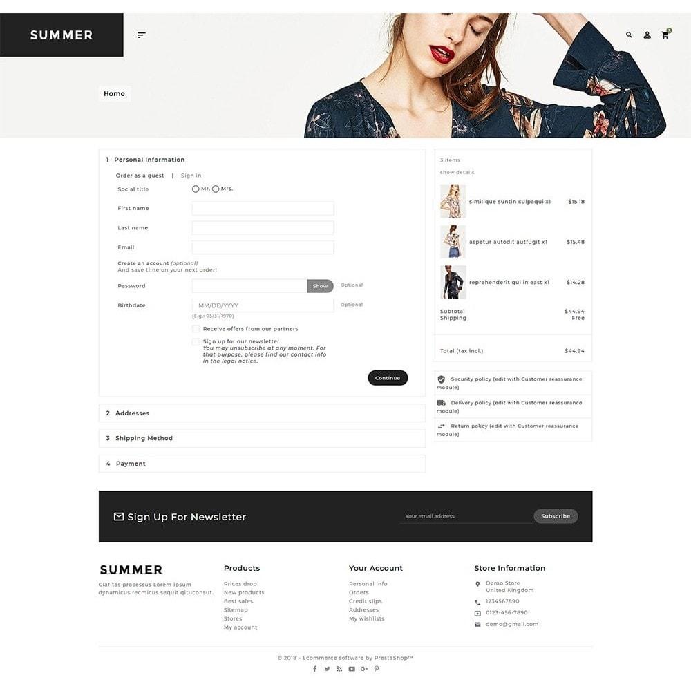 theme - Fashion & Shoes - Floral Fashion - Summer Shop - 7