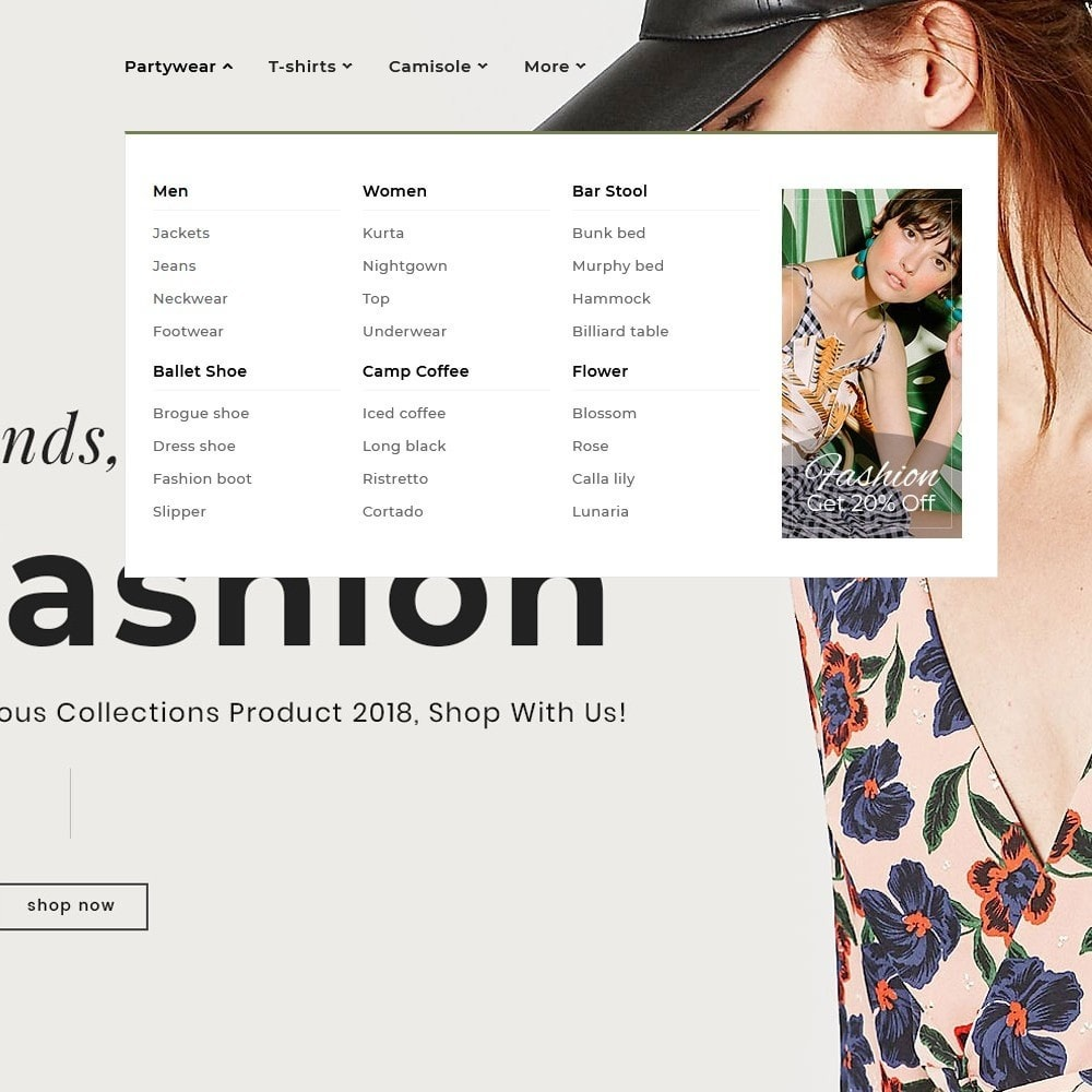 theme - Fashion & Shoes - Floral Fashion - Summer Shop - 9