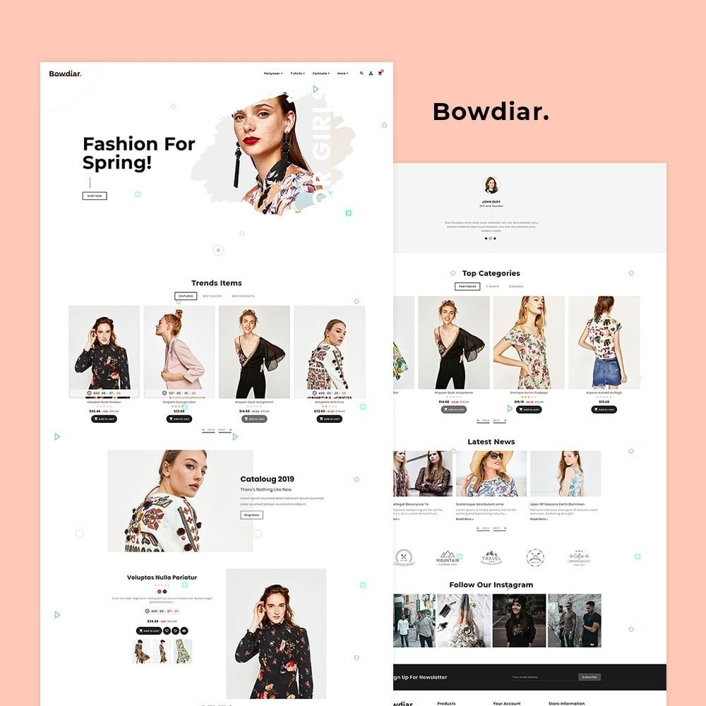 Bowdiar Fashion & Floral Style