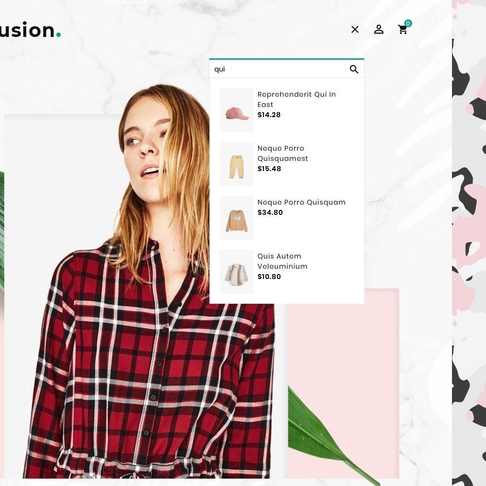 theme - Fashion & Shoes - Fashion Fusion - Floral Look - 10