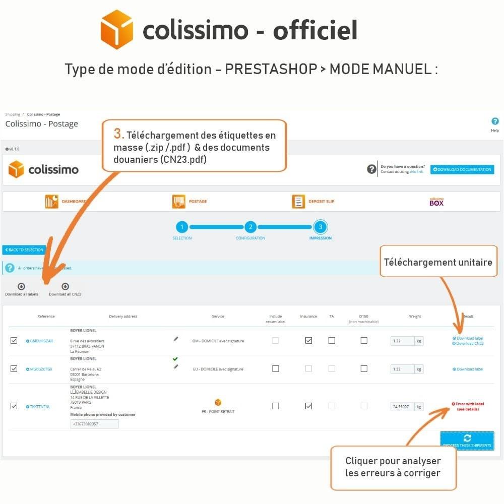 module - Transporteurs - Colissimo - Officiel : vos expéditions avec Colissimo - 14