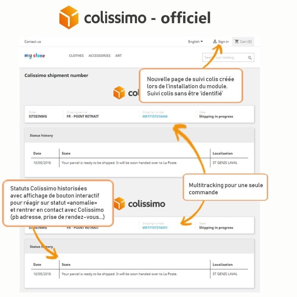 module - Transporteurs - Colissimo - Officiel : vos expéditions avec Colissimo - 19