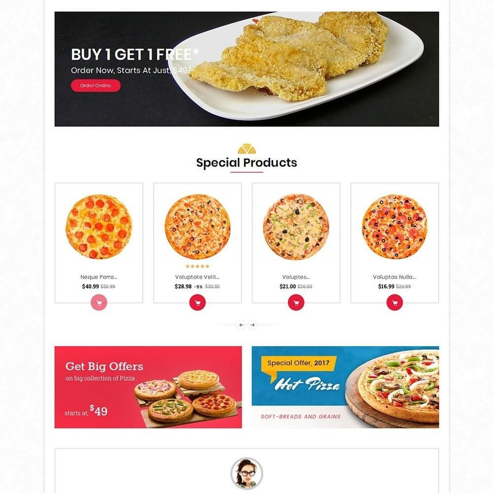 theme - Alimentos & Restaurantes - Pizza Fast Food - 4