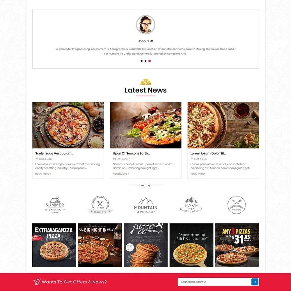 theme - Alimentos & Restaurantes - Pizza Fast Food - 5