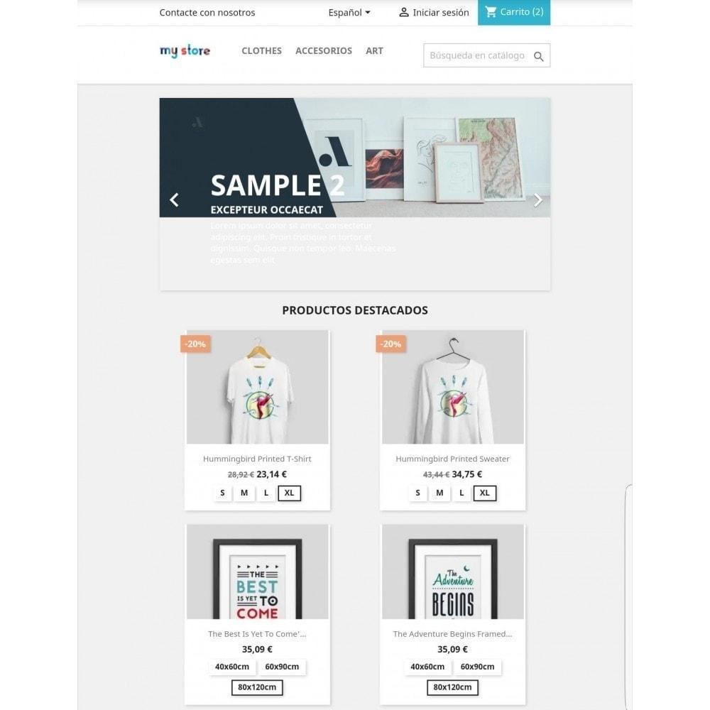 module - Combinaciones y Personalización de productos - Mostrar combinaciones en productos - 1