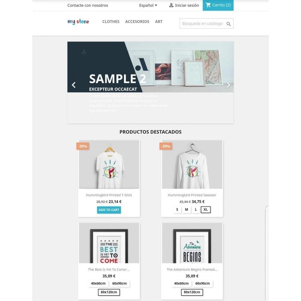 module - Combinaciones y Personalización de productos - Mostrar combinaciones en productos - 2