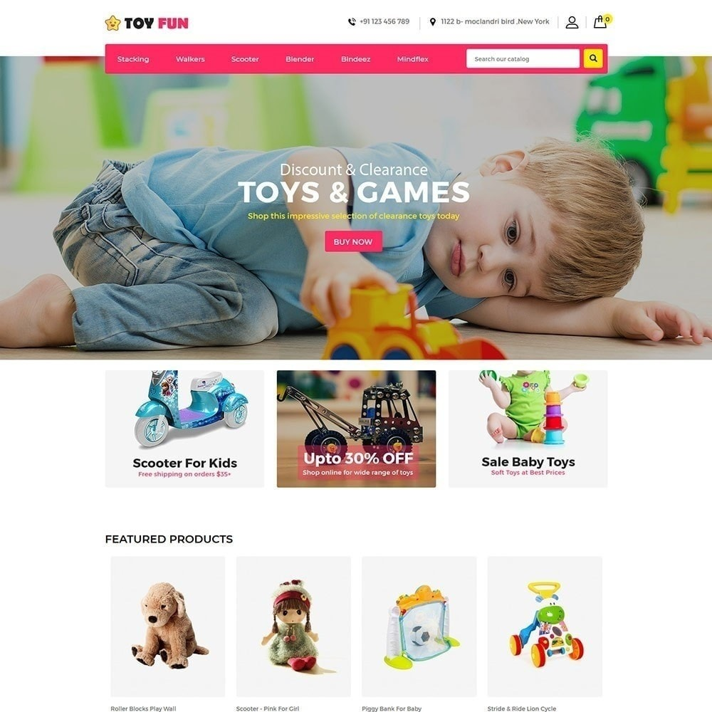 Toy Fan - Kids Store