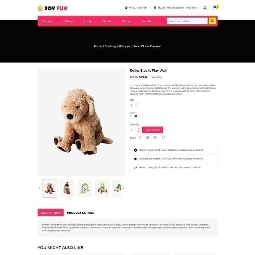 theme - Enfants & Jouets - Toy Fan - Magasin pour enfants - 5