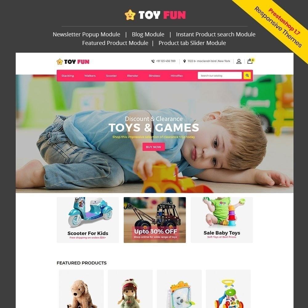 theme - Kinder & Spielzeug - Toy Fan - Kindergeschäft - 1