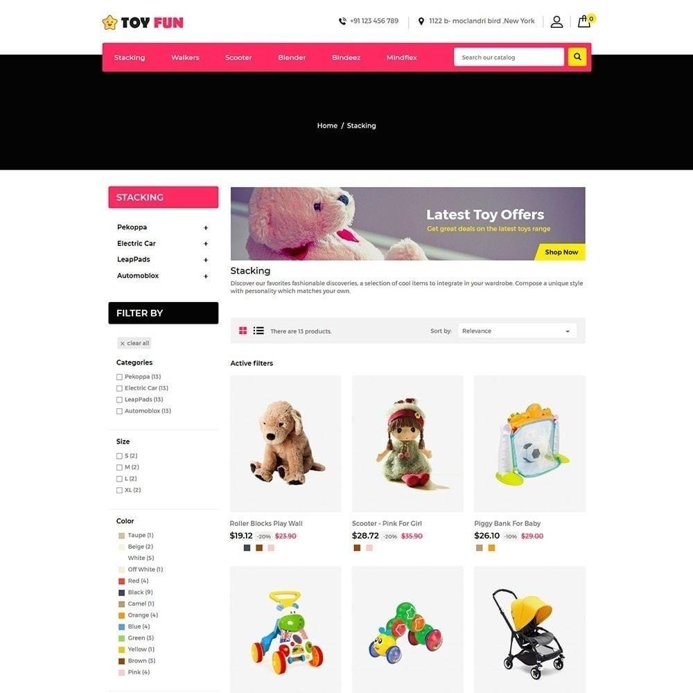 theme - Kinder & Spielzeug - Toy Fan - Kindergeschäft - 4