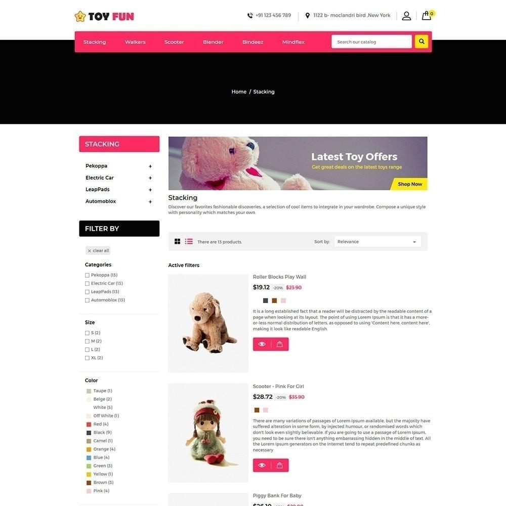 theme - Zabawki & Artykuły dziecięce - Toy Fan - Kindergeschäft - 2