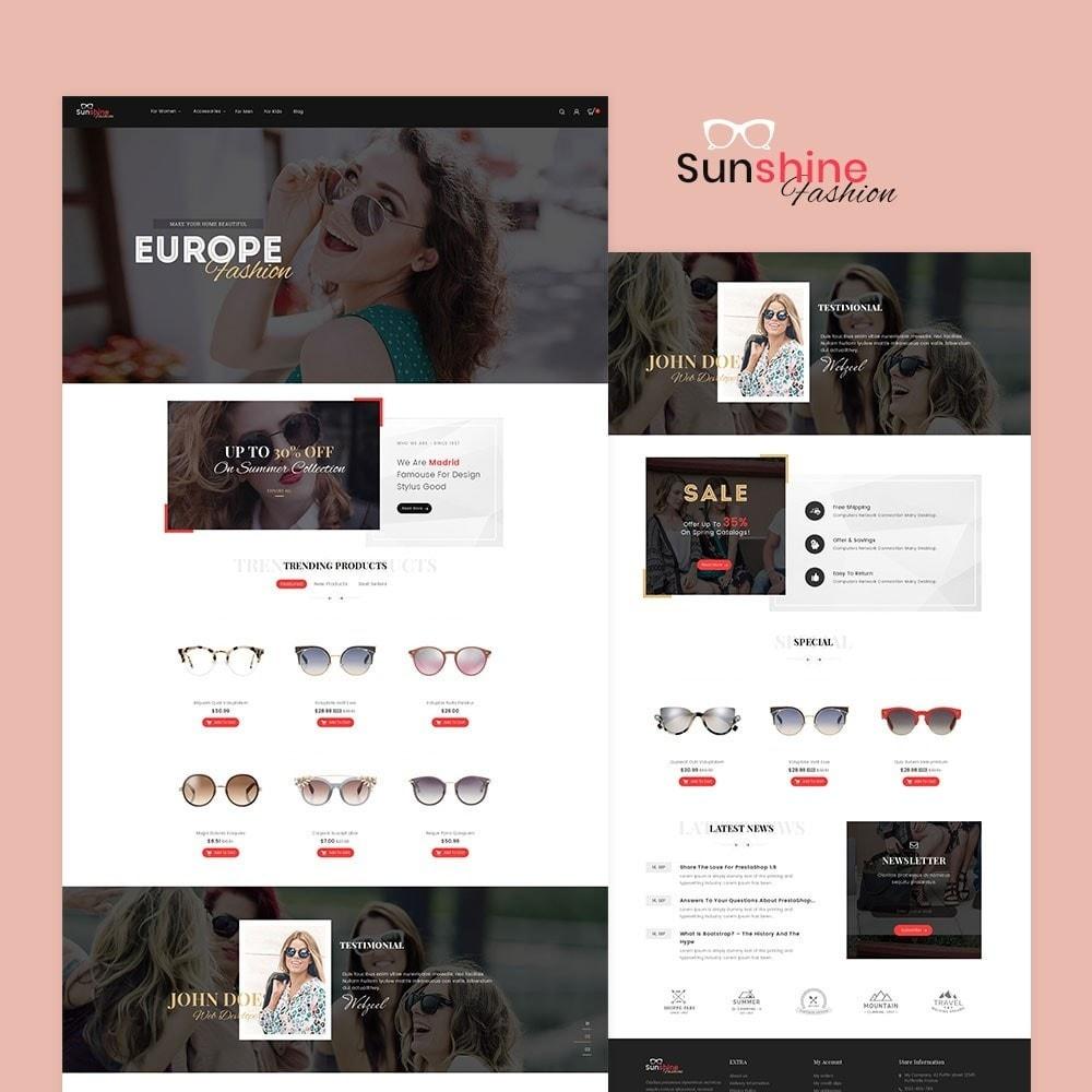 theme - Moda y Calzado - Sunshine - Goggles Store - 2