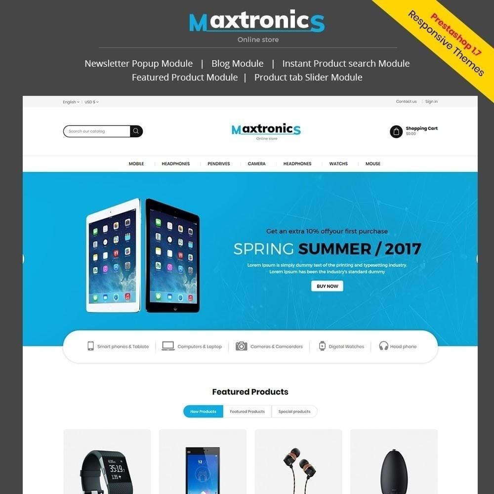 Tienda de electrónica de Maxtronics
