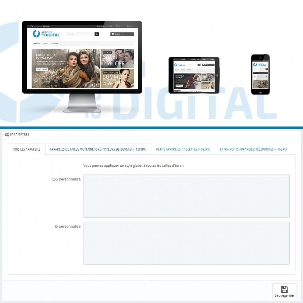 module - Personnalisation de Page - Personnalisation CSS et JS - 1