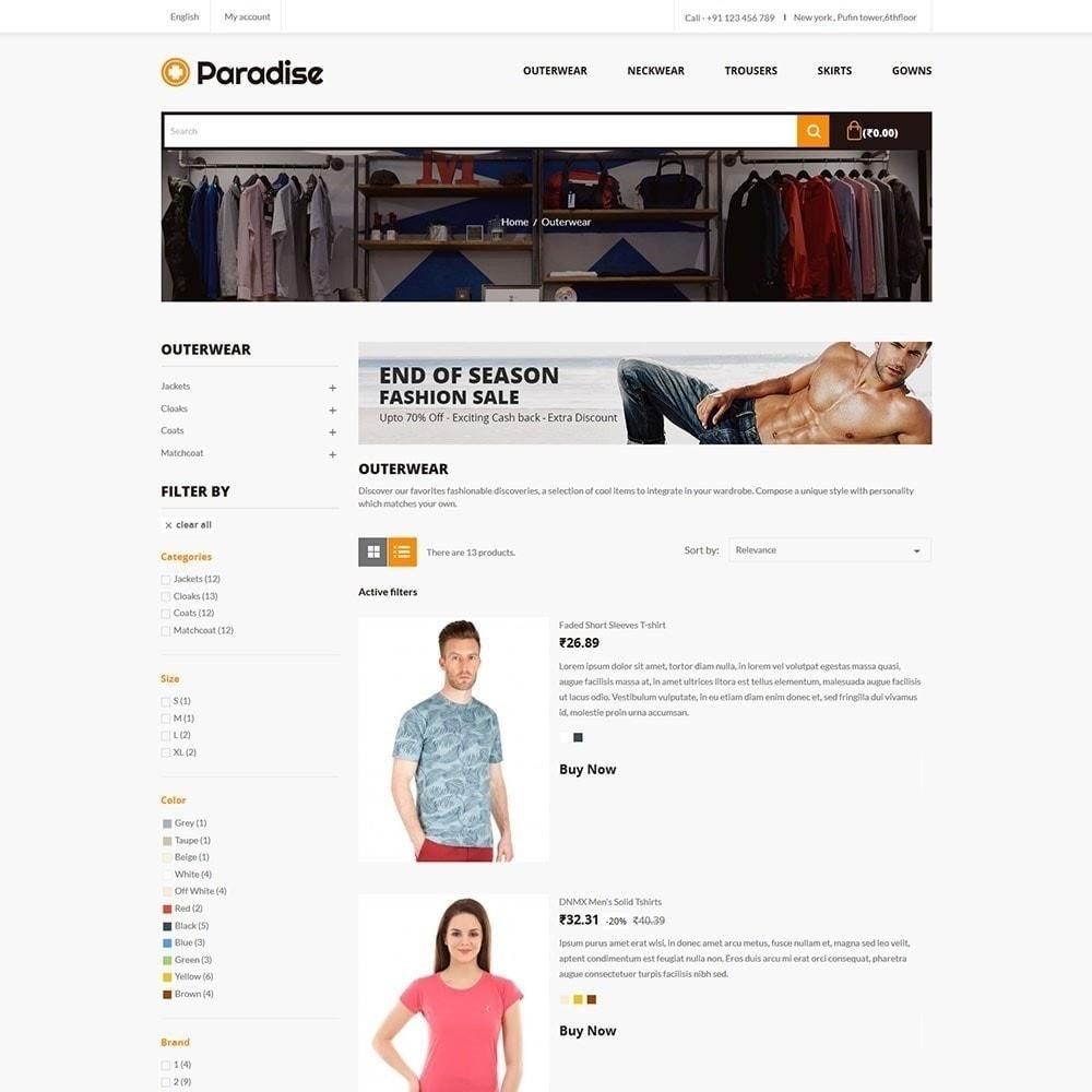 theme - Moda y Calzado - Paradise - Fashion Store - 4
