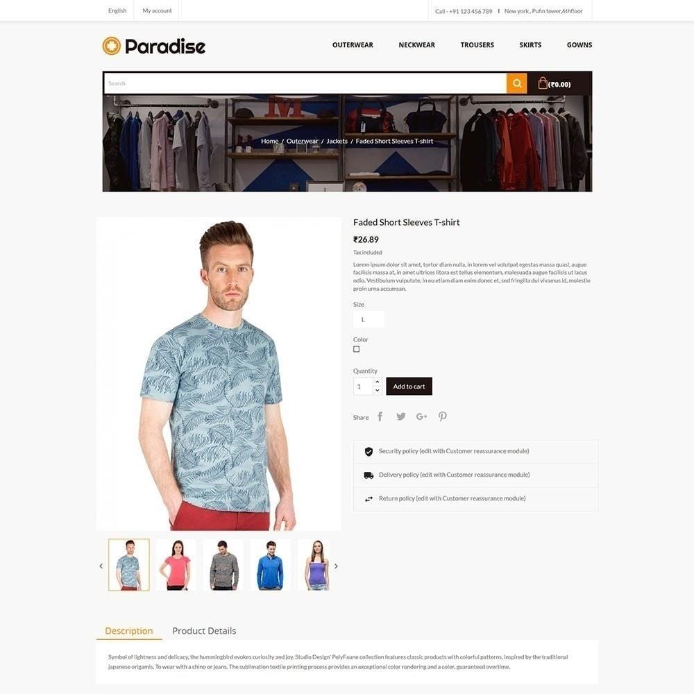 theme - Мода и обувь - Рай - Модный магазин - 5