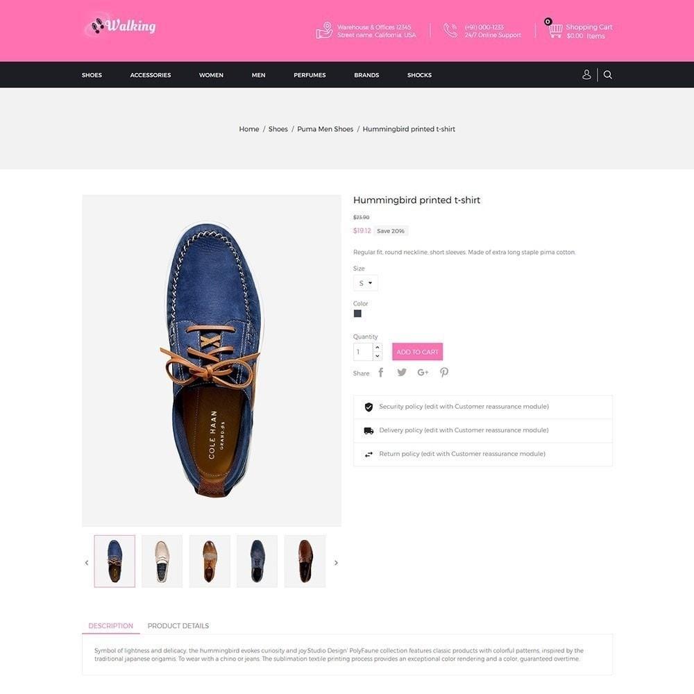 theme - Fashion & Shoes - Walking - Shoes Store - 5