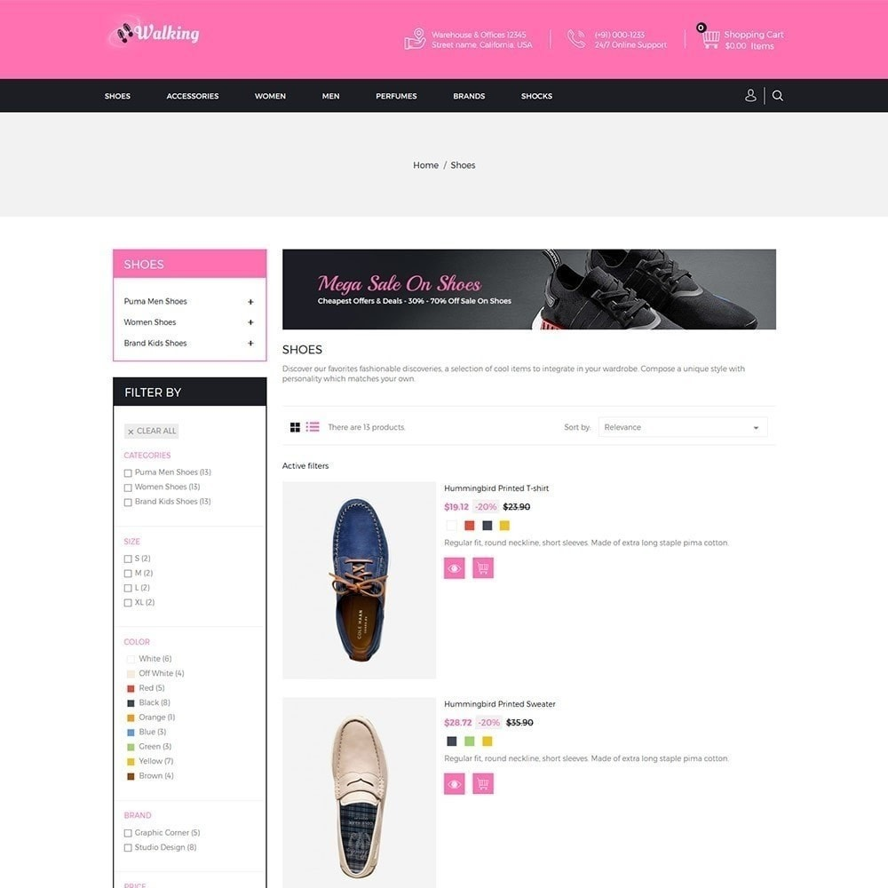theme - Mode & Schoenen - Wandelen - Schoenenwinkel - 4