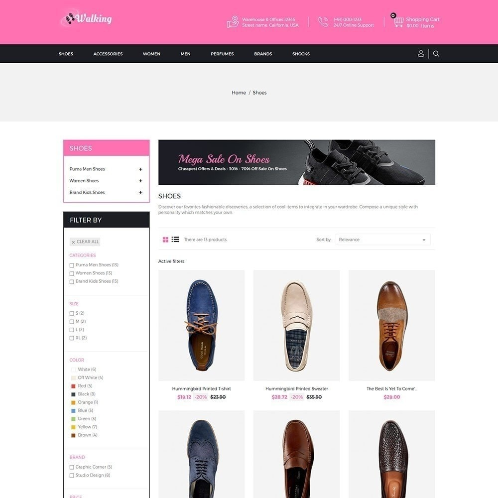 theme - Moda & Obuwie - Walking - Sklep obuwniczy - 3