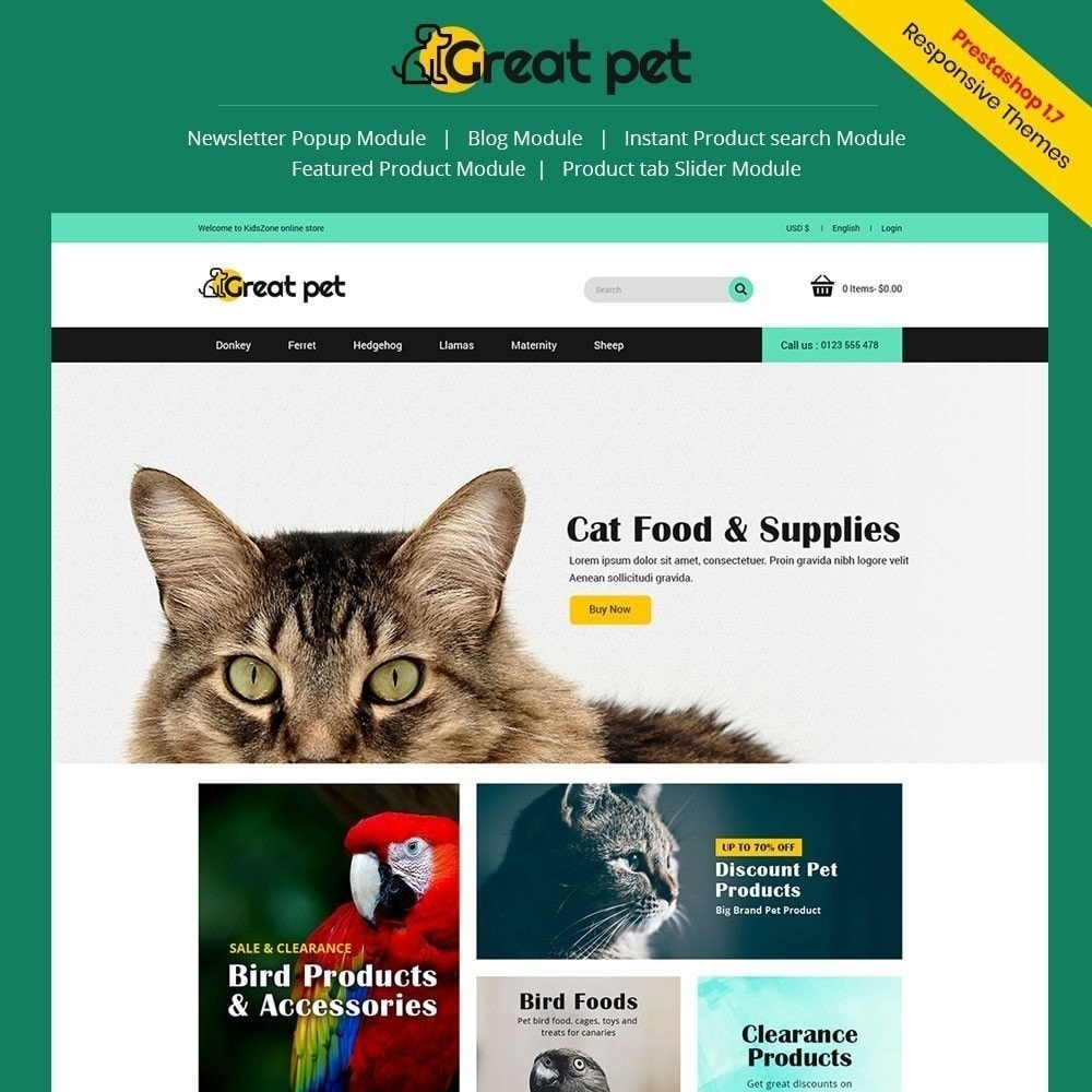 Pet - Animal Store