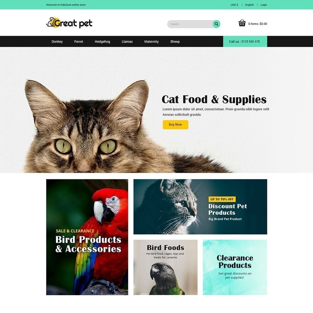 Mascota - Tienda de animales
