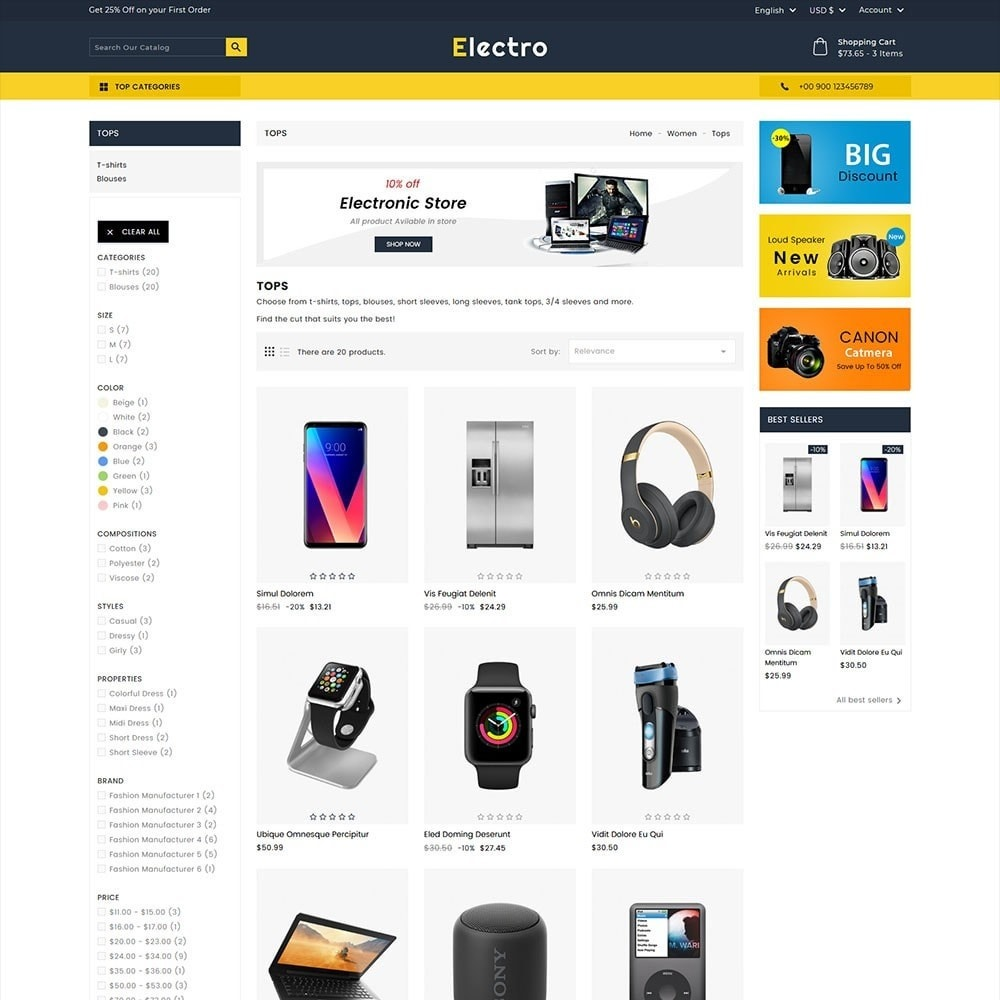 theme - Elettronica & High Tech - Electro Electronics Store - 5