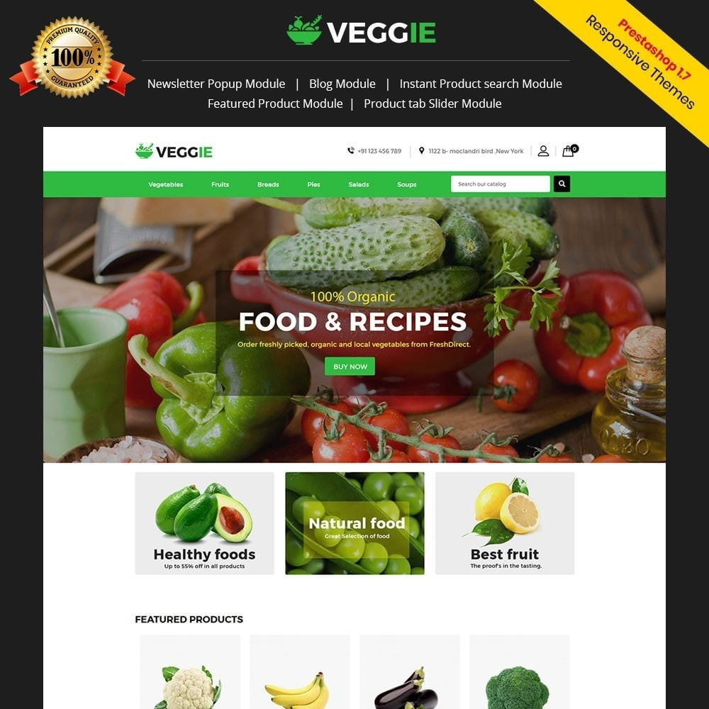 veggie Food Store