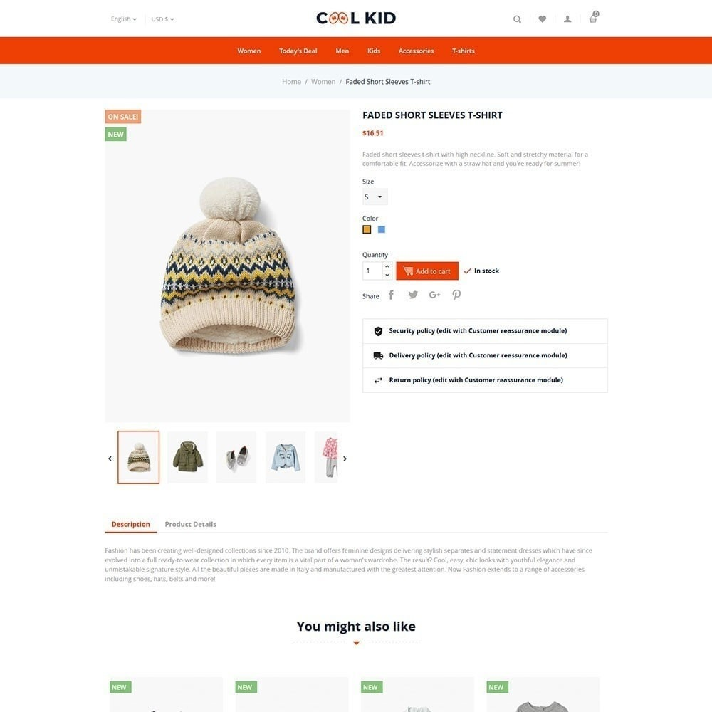 theme - Kids & Toys - Coolkid - Kids Store - 5