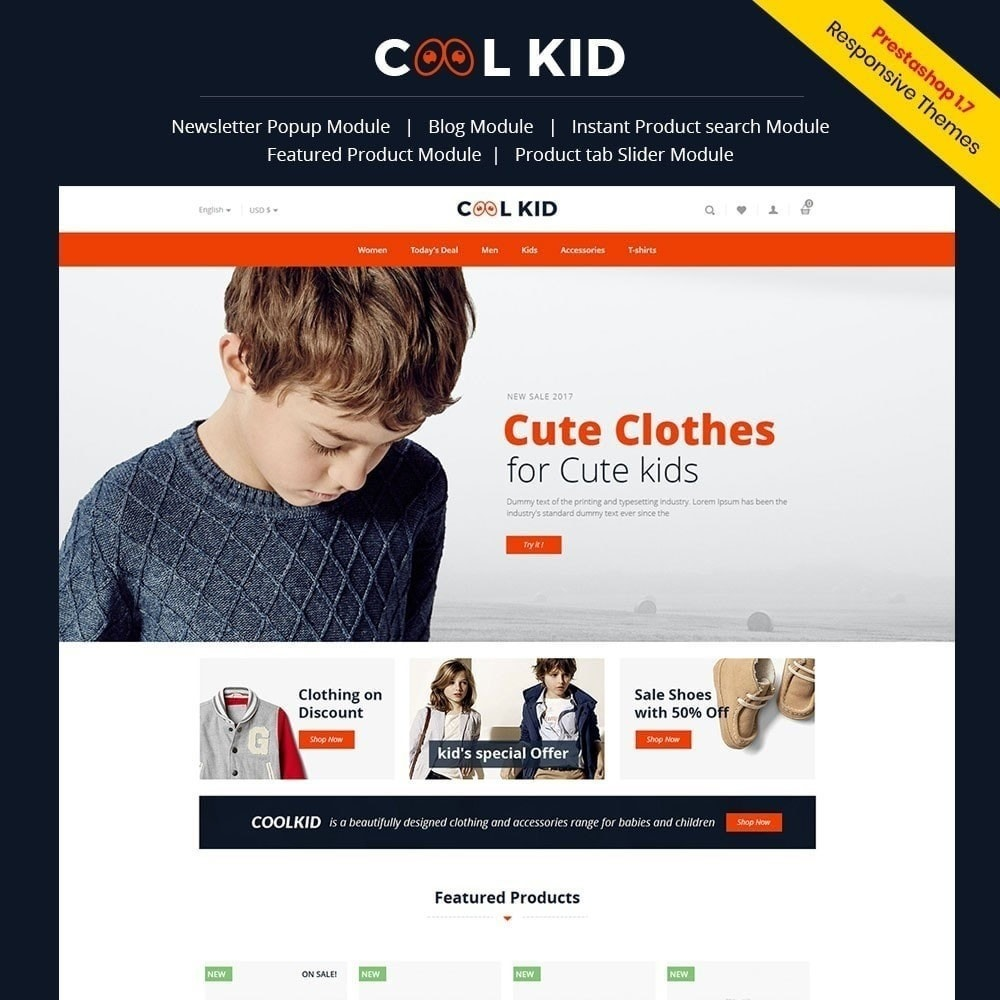 Coolkid - Magasin pour enfants