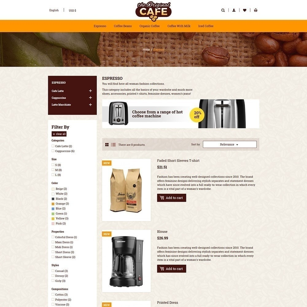 theme - Food & Restaurant - Food and Restaurant Cafe Store - 4