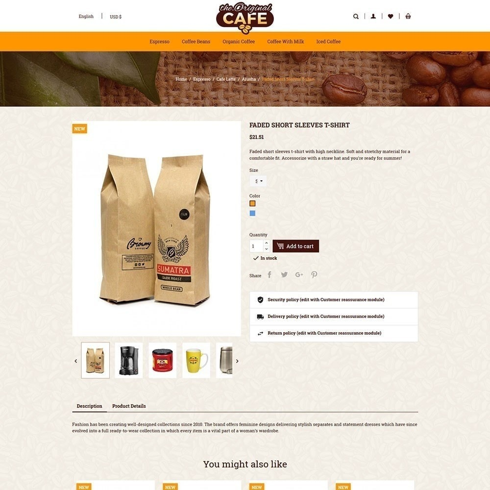theme - Food & Restaurant - Food and Restaurant Cafe Store - 5