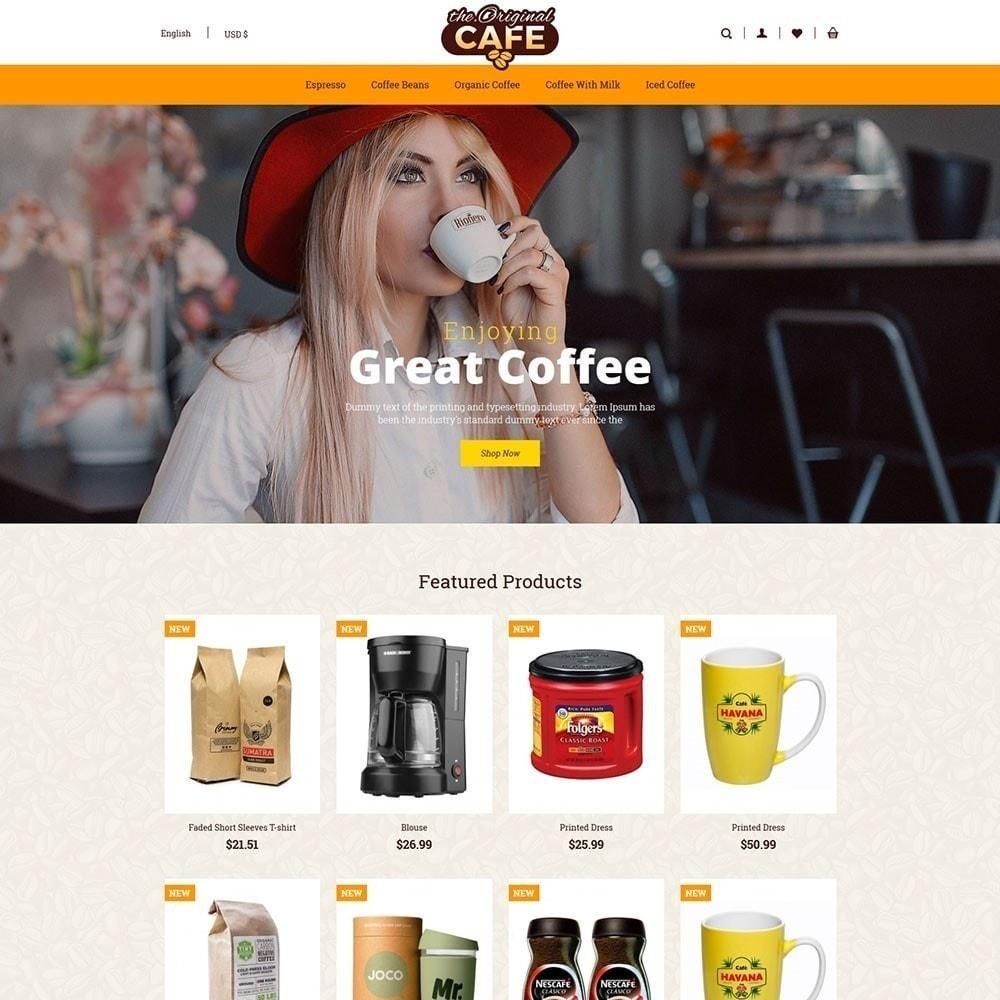 theme - Lebensmittel & Restaurants - Lebensmittel und Restaurant Cafe Store - 2