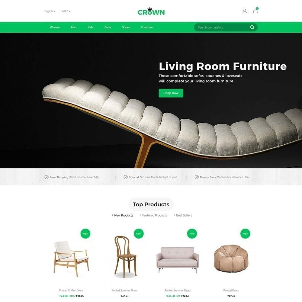 theme - Home & Garden - Crown Furniture Store Theme - 2