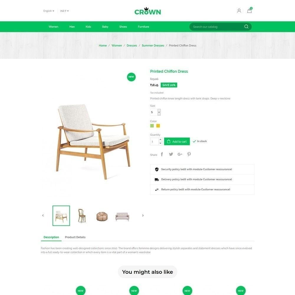 theme - Maison & Jardin - Thème de magasin de meubles de couronne - 5