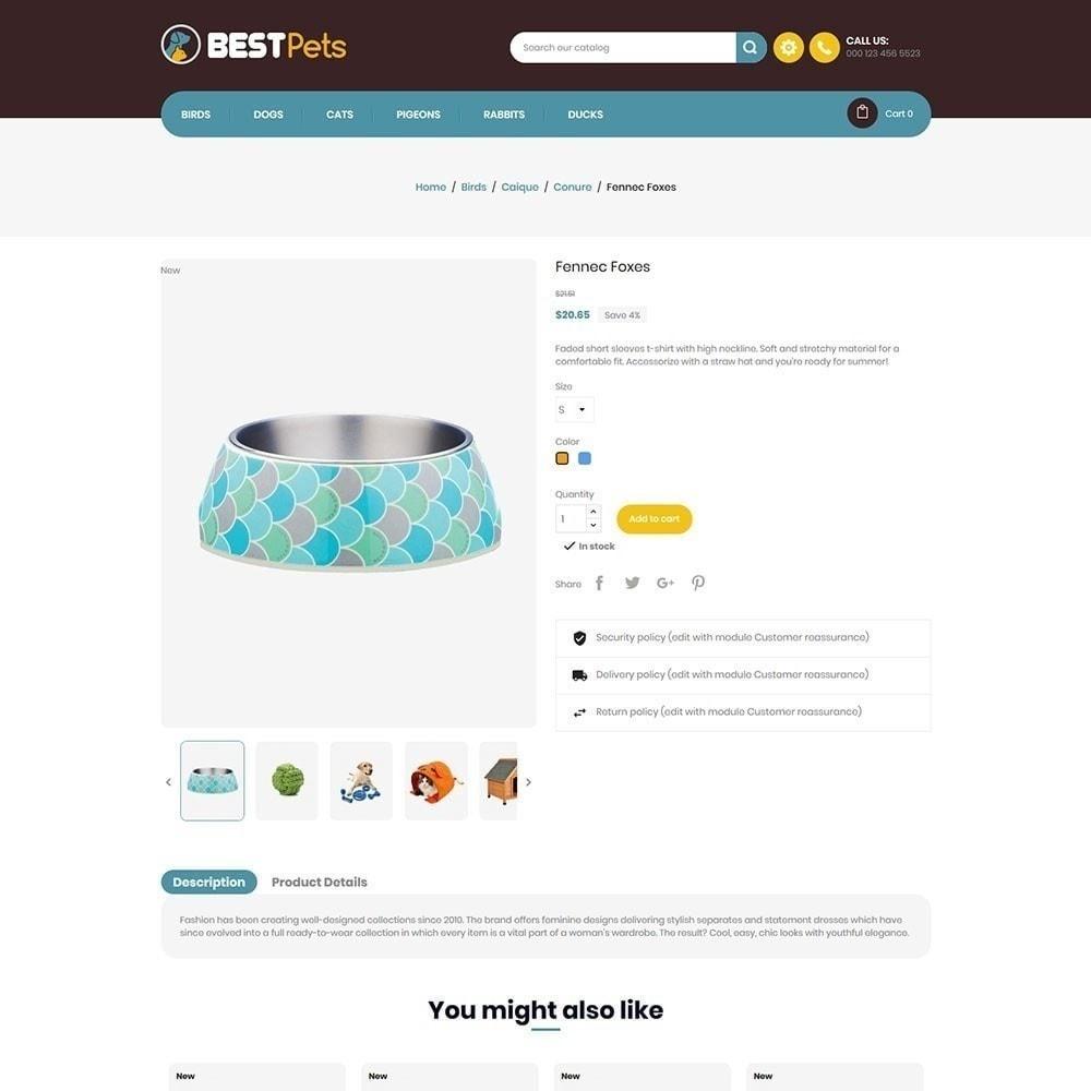 theme - Animales y Mascotas - Tienda de mascotas Bestpet - 5