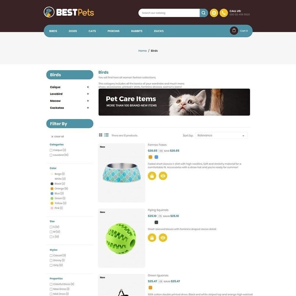 theme - Animales y Mascotas - Tienda de mascotas Bestpet - 6